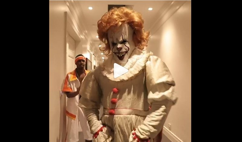 P Diddy Halloween Costume 2020 Diddy's Halloween Costume as Pennywise Shows the Terrifying Clown
