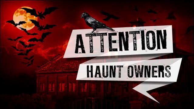 Attention Rhode Island Haunt Owners